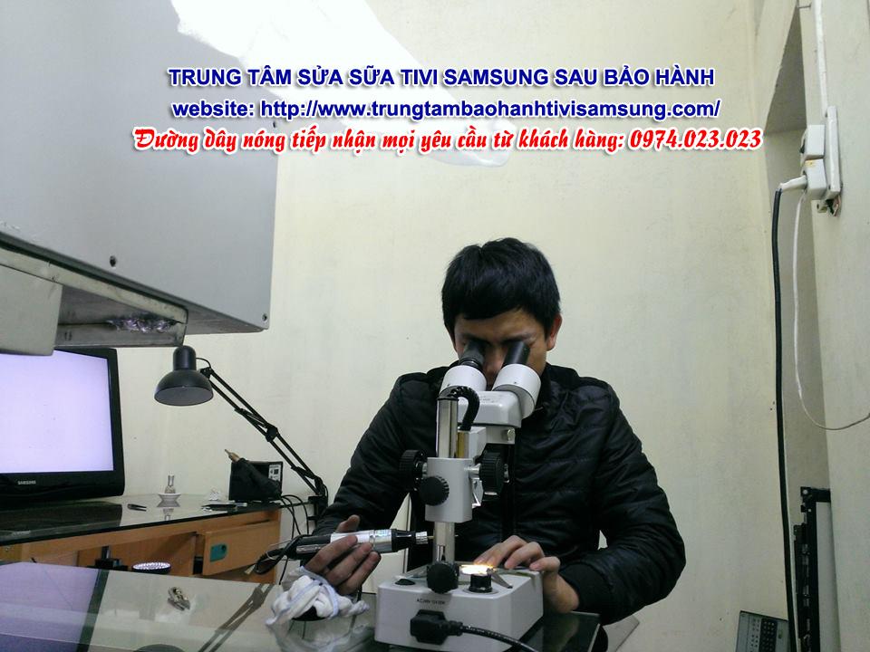 Địa chỉ sửa chữa tivi Samsung sau bảo hành