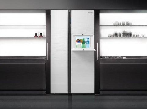 Tủ lạnh thông minh được trang bị cảm ứng